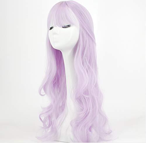 JUZHEN Langes Haar mit großem Volumen Süße süße Form Mode Party verfügbar Frisur ändern Schöne Qualität Perücke Fasermaterial Praktisch, ()