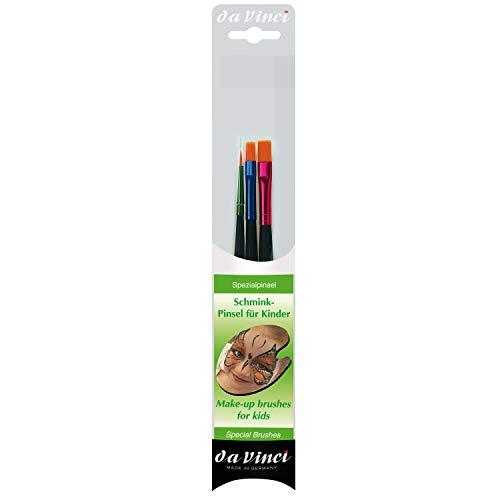 Da Vinci 5216Set Schmink-Pinsel für Kinder, Hobby- und Kinderschminken