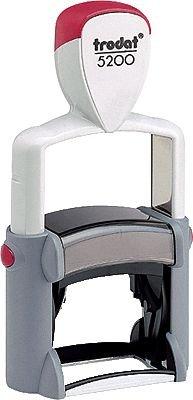 Trodat Textstempel Professional Line/590100-5200 41x24mm 6-zeilig