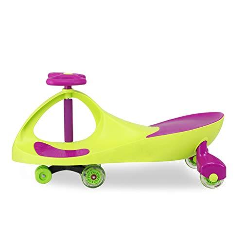 Twist car Swing car Children Universal Wheel Yo Car 1-3 Years Old Men And Women Baby Scooter Swing Car FANJIANI (color : Flash wheel)  FANJIANI