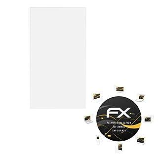 atFoliX Panzerfolie kompatibel mit Xomax XM-2DA801 Schutzfolie, entspiegelnde und stoßdämpfende FX Folie (3X)