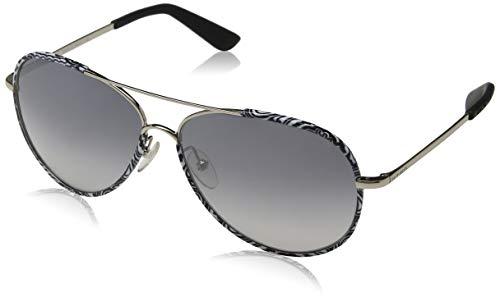 Etro et100s 006 61 occhiali da sole, nero (black&white paisley), unisex-adulto