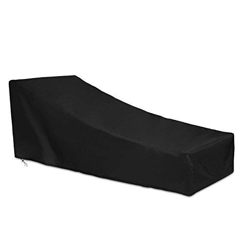 Dokon Abdeckung für Gartenliege Wasserdichtes Atmungsaktives Oxford-Gewebe Deckchair, Liegestuhl,...