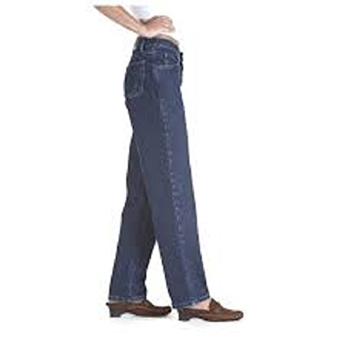 Wrangler Blues Womens Easy Fit Low Rise Tapered Leg Size 4X30 - Wrangler Low Rise