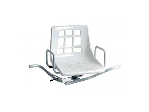 Sedia girevole a 360° per vasca da bagno