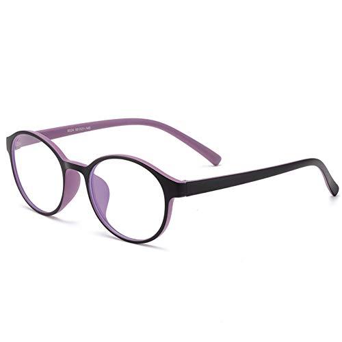 Kinder-Blocking-Blau-Licht-Gläser, TR90 Runde Anti UV Ermüdung der Augen Computer-Brillen, Unisex (Boy/Girl)-2