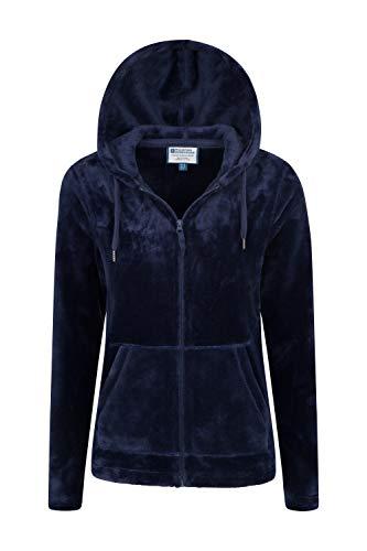 Mountain Warehouse Snaggle Damen-Fleecejacke mit Kapuze Marineblau DE 32 (EU 34) - 4