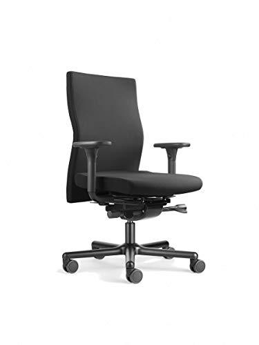 Löffler Lezgo 7250 Bürostuhl, ergonomischer Drehstuhl 3D-Sitztechnologie ErgoTop