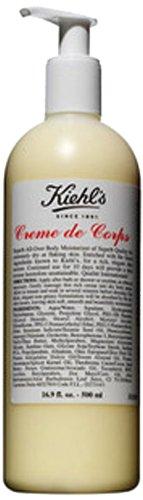 Kiehl's Creme de Corps Körper-Feuchtigkeitscreme - Pumpflasche, Normale Größe 16.9oz (500ml) (Creme De La Corps)