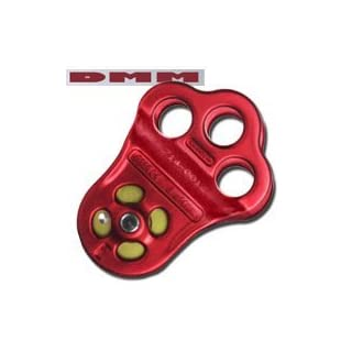 DMM Hitch Climber Pulley - Triple Attachment by DMM International