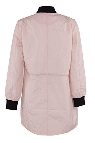 Damen MA1 Kordel Langes Mantel Nackt