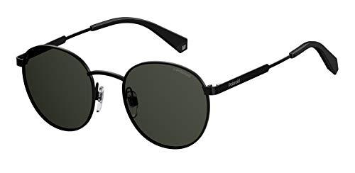 Polaroid sonnenbrille pld2053s-807m9-51 occhiali da sole, nero (schwarz), 51.0 unisex-adulto