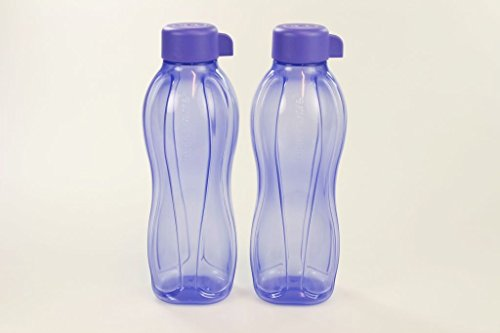 TUPPERWARE To Go Eco Trinkflasche Saft Öko Ecoflasche 500ml hell lila (2) 29972