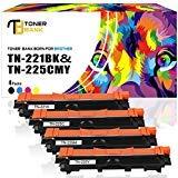 Toner Bank 4Pack Kompatibel für TN241 TN245 TN242 TN246 für Brother MFC 9332CDW MFC-9332CDW MFC-9342CDW MFC-9142CDN DCP-9022CDW HL-3150CDW HL-3142CW HL-3152CDW HL-3140CW HL-3170CDW MFC-9140CDN Toner - Tn450 Laser Brother Toner