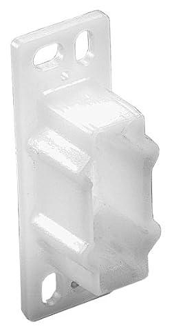 Knape & Vogt plastique blanc montage de 1123PLAS Clip