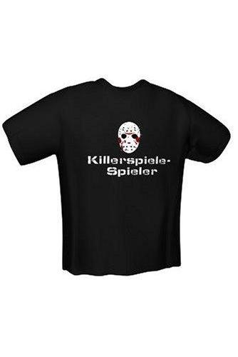 T-Shirt Killerspiele-Spieler Gr.M black