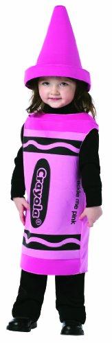 Toddler Pink Crayon Fancy dress costume 18 - 24 months