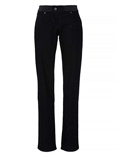 gianfranco-ferre-damen-straight-cut-jeans-schwarz-w29