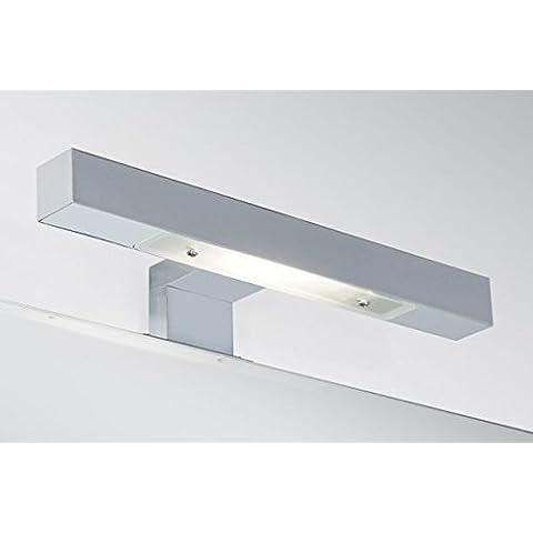 Lámpara de luz halógena Aplique led 30 CM espejo para baño