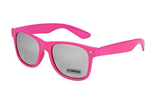 X-CRUZE 8-019 X0 Nerd Sonnenbrille Style Stil Retro Vintage Retro Unisex Herren Damen Männer Frauen...