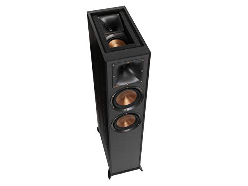 Klipsch R-625FA Dolby Atmos Standlautsprecher schwarz Aluminium Cone Woofer