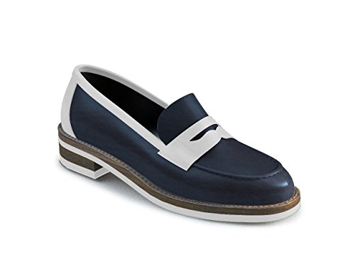 DIS - Laura - Mocassin Penny Loafer - Femme Multicolore