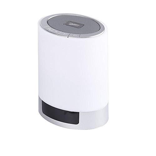 Portable Usb Nachtlicht Bluetooth Lautsprecher Bluetooth Music Center Nachtlicht Wireless Light Smart Music Steckbare Karte # G4-China_White