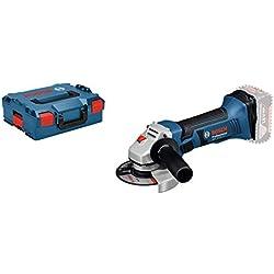 Bosch Professional Meuleuse Angulaire Sans Fil GWS 18-125 V-LI Solo (18V, Ø de Meule : 125 mm, sans batterie L-Boxx)