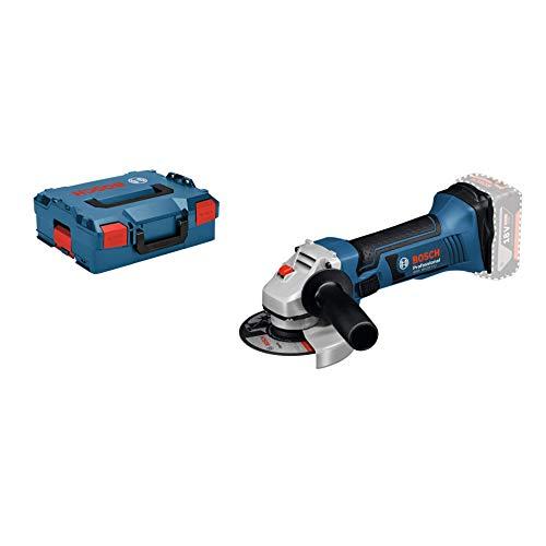 Bosch Professional 18V System Akku Winkelschleifer GWS 18-125 V-LI (Leerlaufdrehzahl: 10.000 min-1, Scheiben-Ø: 125 mm, ohne Akkus und Ladegerät, in L-Boxx)