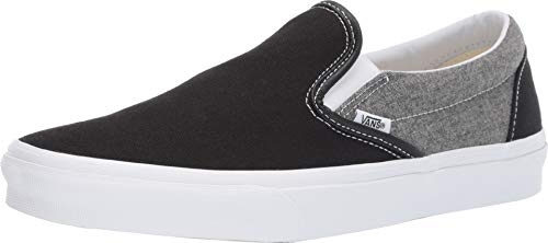 Vans Chambray Classic Slip-On Sneaker - 9/42 - Chambray Schuhe