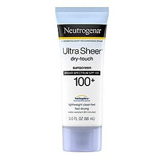 Neutrogena Ultra Sheer Dry-Touch Sunblock, SPF 100 aus den USA