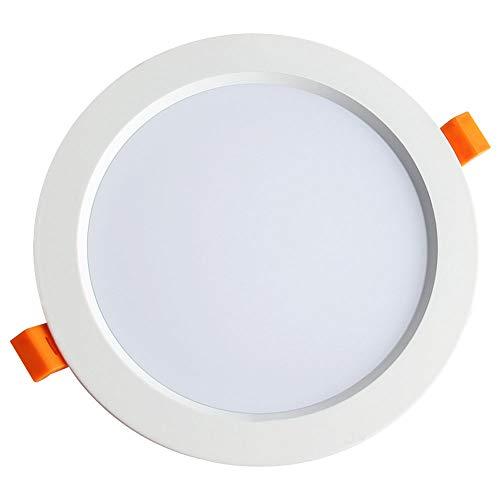 Mogicry Mehrere Spezifikationen LED-Einbau-Deckenleuchte Ultradünne energiesparende Anti-Anschlag hohe Farbwiedergabe Decken-Panel-Licht nach unten Licht Runde LED-Panel-Licht für Korridor -