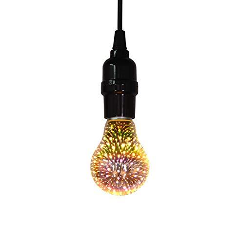 Ξ AO Star 3er-Pack E27 LED lang Glühlampe Natürliches Edison Screw Antike Birne Weißglühend Äquivalent (Birne-installer)