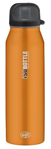 Alfi 5337698050 Isolier-Trinkflasche edelstahl (0,5 Liter) rein orange
