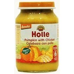 Holle - Potito Calabaza con Pollo Holle 190 gr 6m+