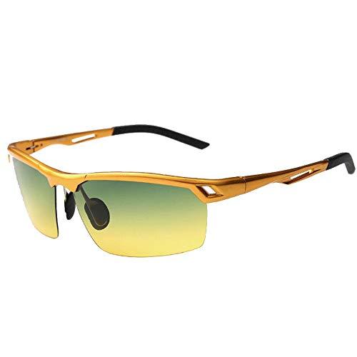Fahrradfahren Brille Polarisiertes Licht im Freien Fahrrad Reiten Brille und Sonnenbrille Tag und Nacht Radfahren Outdoor Sports Brille Sonnenbrille Männer und Frauen Multifunktionale Sonnenbrillen