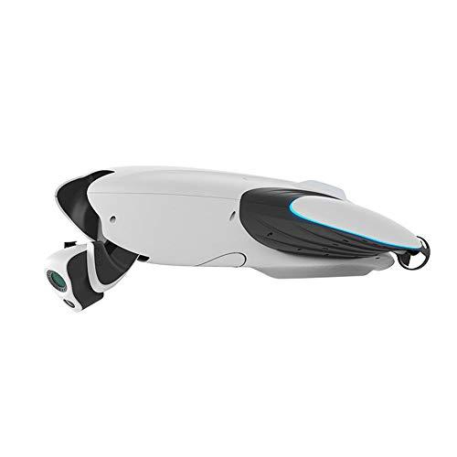 YANKAN Hd-Fotokamera-Unterwasserdrohne Wizard Unterwasser 4K Ultra Hd 132 ° Weitwinkelkamera 2 Stunden Lange Akkulaufzeit Leistungsstarke Schlepphakenfunktion