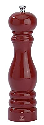 Peugeot Paris u Select Pepper Mill-Red Lacquered, 5.9 x 5.9 x 22 cm by Peugeot