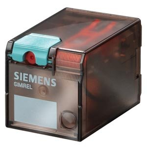 SIEMENS - RELE INDUSTRIAL 11 POLOS CON LED 24VDC SERIE MATE