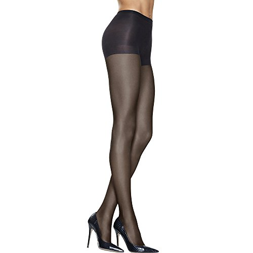 Hanes Silk Reflections - Lasting Sheer Control Top Pantyhose (3-Pack) Jet