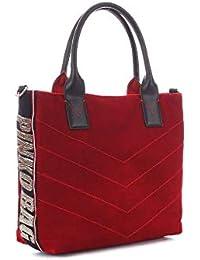 Pinko Borsa Shopping Donna 1H20HMY4PGR200000 Poliestere Rosso e985f19d5bd