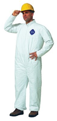 DUPONT TYVEK COVERALL ZIP FT- SIZE XL