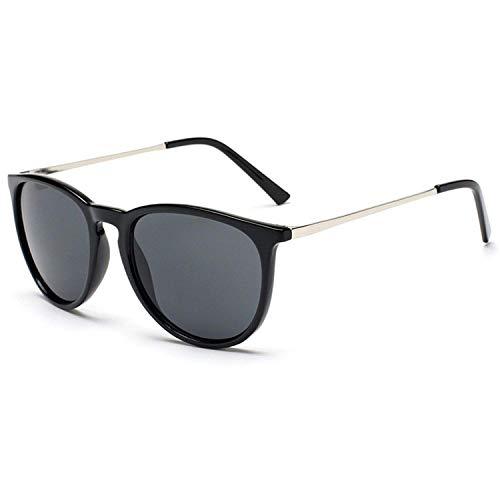 FGRYGF-eyewear2 Sport-Sonnenbrillen, Vintage Sonnenbrillen, Retro Male Round Sunglasses Women Men Sun Glasses for Women Alloy Mirror Sunglasses
