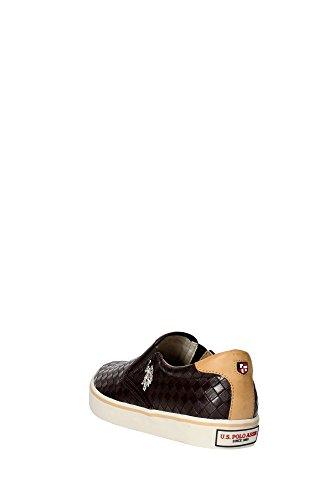 U.s. Polo Assn GALAN4154S5/Y1 Slip-on Schuhe Herren Leder Synthetikleder Marrone
