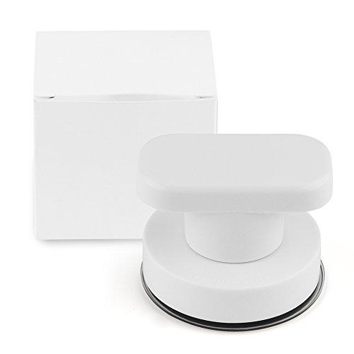 ourleeme starkes Spiegel aus Glas Schublade Saugnapf kariert de Mur Griffe für Toilette Badezimmer Tür Griffe