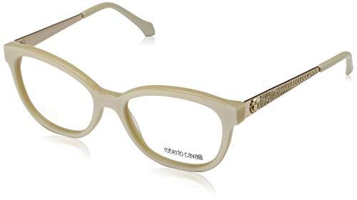 Roberto Cavalli Damen Rc0859 025-53-17-140 Brillengestelle, Beige, 53
