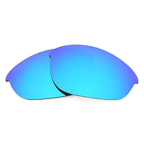 Revant Ersatzlinsen für Oakley Half Jacket Eisblau MirrorShield® Asian Fit