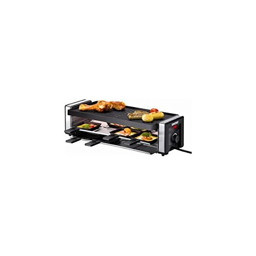 Unold 48735 Finesse Raclette chrom-schwarz