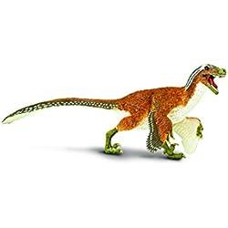 Safari Ltd. Wild Safari® Prehistórico World Dinosaur 100032 - Velociraptor de plumas