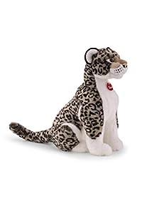 Trudi- Leopardo Gris Leopoldo Peluche, Color Blanco, L (27603)